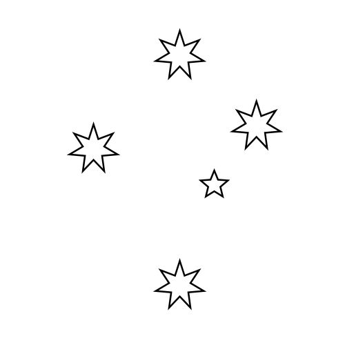 australian southern cross constellation. At some,point it will become a tattoo to always remember oz.