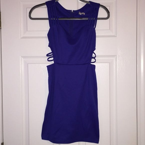 Sexy Going Out Dress Side cut outs, zip closure, perfect condition Charlotte Russe Dresses Mini