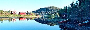 Lapin kaunein kalapaikka Immeljärvi, picturesque Lake Immeljärvi