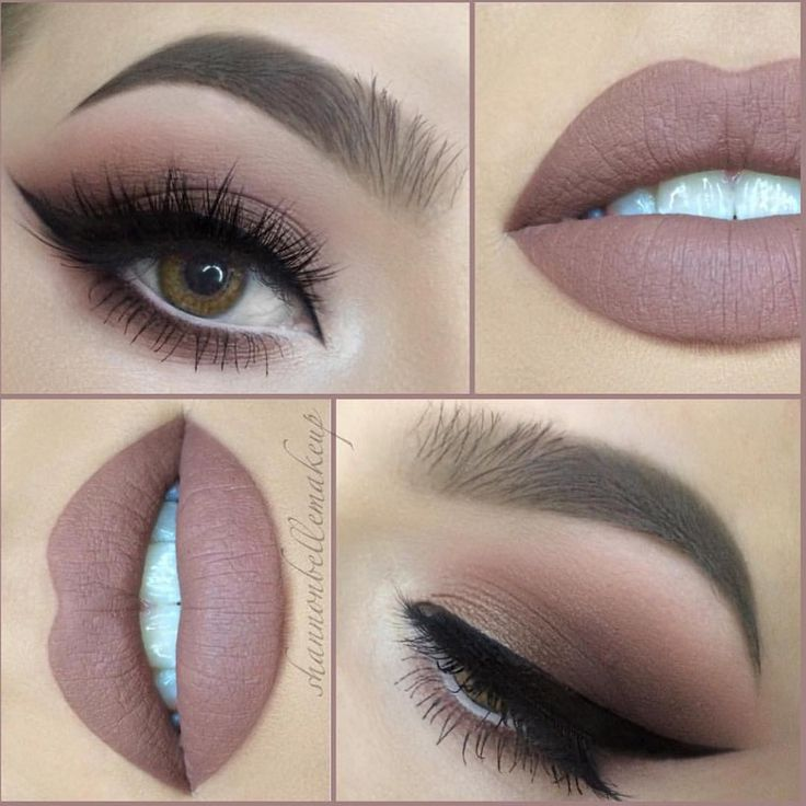 """""""These beautiful nude tones are serving life  @shannonbellemakeup @shannonbellemakeup  #shannonbellemakeup #brian_champagne #livingwithgratitude"""""""