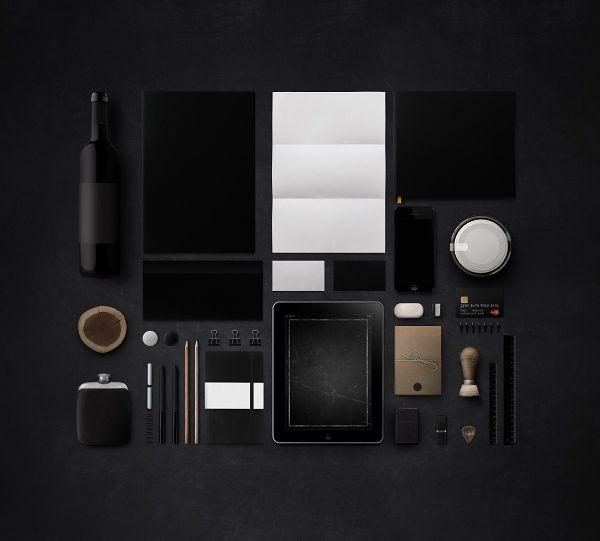 Branding Mock Up |  Free PSD by Danil Kartashev, via Behance