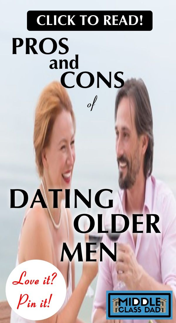 dating older guy pros cons