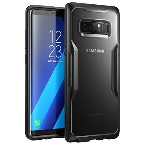 Samsung Galaxy Note 8 Case, SUPCASE Unicorn Beetle Series Premium Hybrid Protective Frost Clear Case for Samsung Galaxy Note 8 2017 Release, Retail Package (Frost/Black)