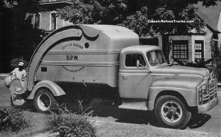 Classic Refuse Trucks INTERNATIONAL HARVESTER