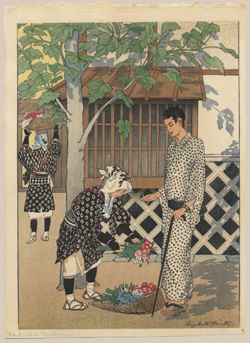 "Keith, Elizabeth (1887-1956), ""Black and White. Kyoto"""