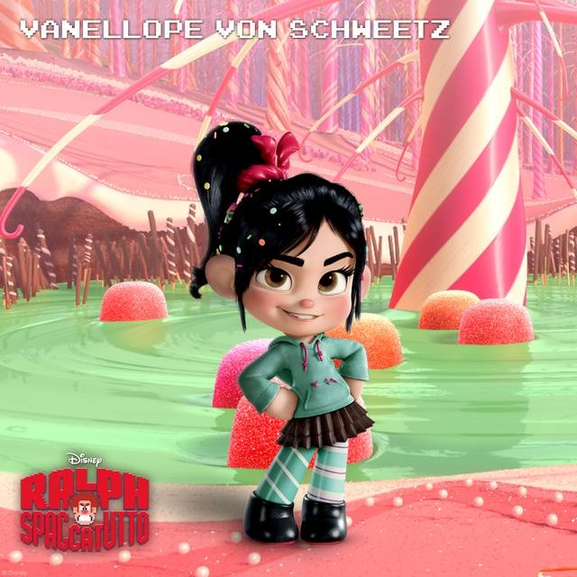 #RalphSpaccatutto Character Rollout Vanellope