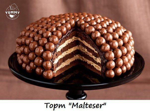 Торт Malteser / Идея Воркаута