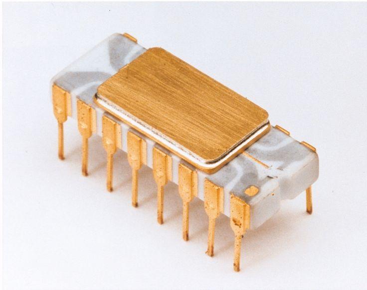 Intel 4004 Chip - Tech nostalgia: The top 10 innovations of the 1970s - TechRepublic