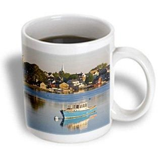 3dRose Lobster fishing boat, Piscataqua River, NH - US30 JMO0932 - Jerry and Marcy Monkman, Ceramic Mug, 11-ounce