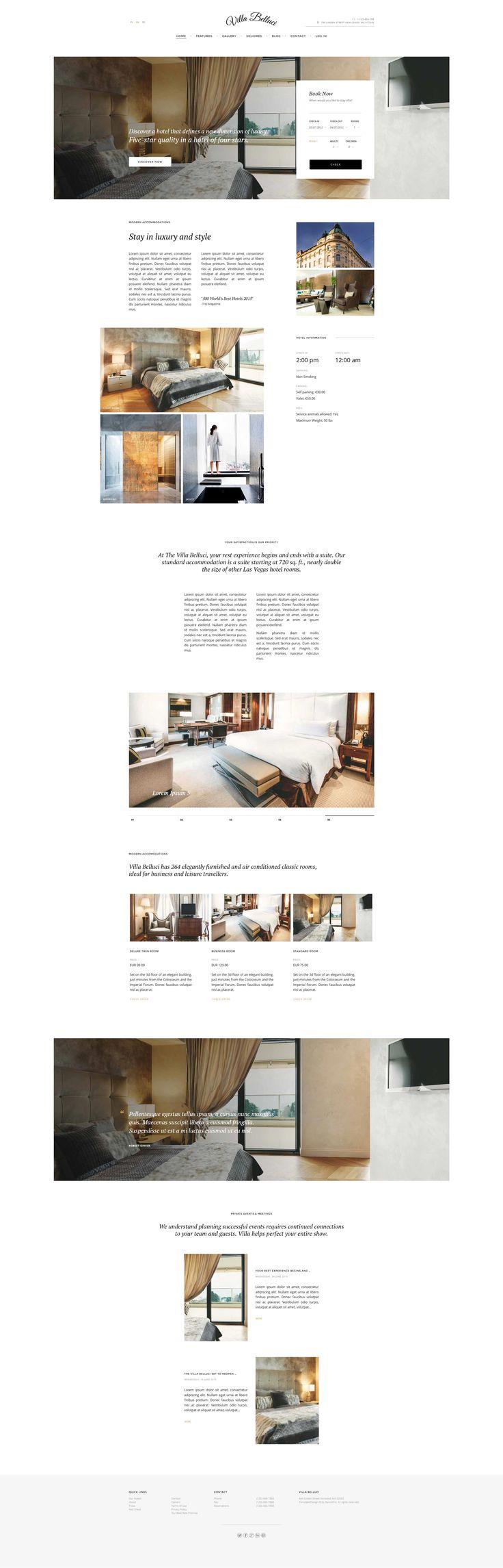 Villa Bellucci - Elegant Travel & Tourism Joomla template