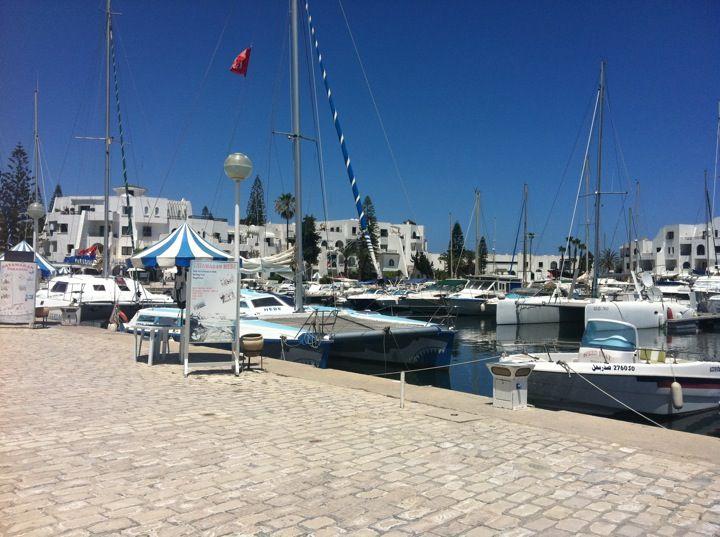 Port El Kantaoui Harbour, Tunisia