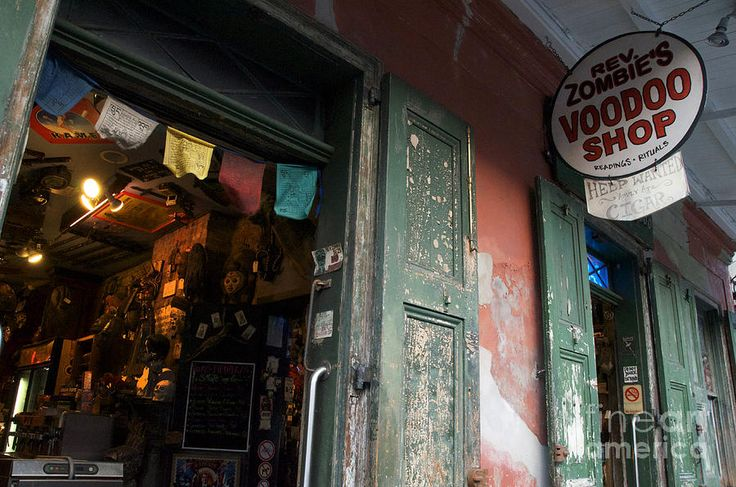 voodoo shops in new orleans   New Orleans Voodoo Shop Photograph
