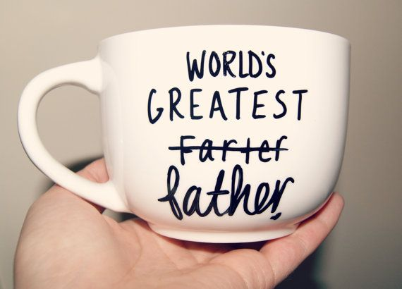 World's Greatest Farter/Father Mug/ Fully Customizable/ Fathers Day/Dad/Funny