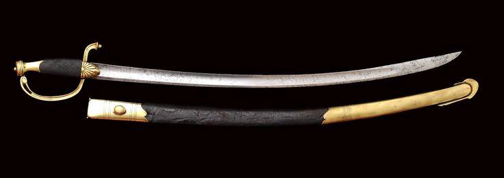 Collection de Sabres et Epées des Guerres Napoléoniennes: Sabre Officier 33 ème Régiment Infanterie Légère de la Grande Armée