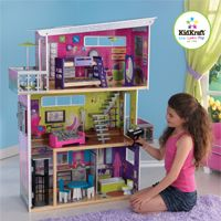 KidKraft My Modern Dollhouse With Lights And Sound