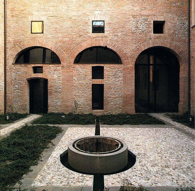 Guido Canali: Hospital Santa Maria della Scala, redevelopment, Siena, 1992-2000.