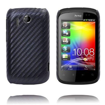 Carbon (Sort) HTC Explorer Deksel