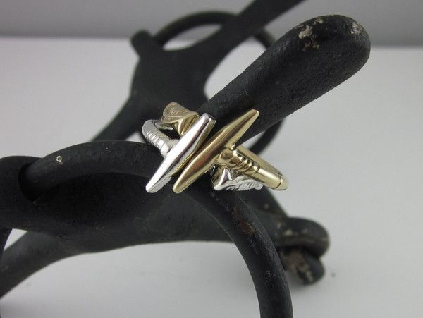 ER02 - Heavy Polo Stick Ring | The Cambridge Collection