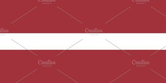 Flag of Latvia. Europe #flags
