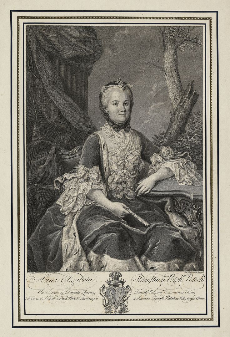 Anna Elżbieta Potocka by Domenico Cunego after Marcello Bacciarelli, 1782 (PD-art/old), Biblioteka Narodowa