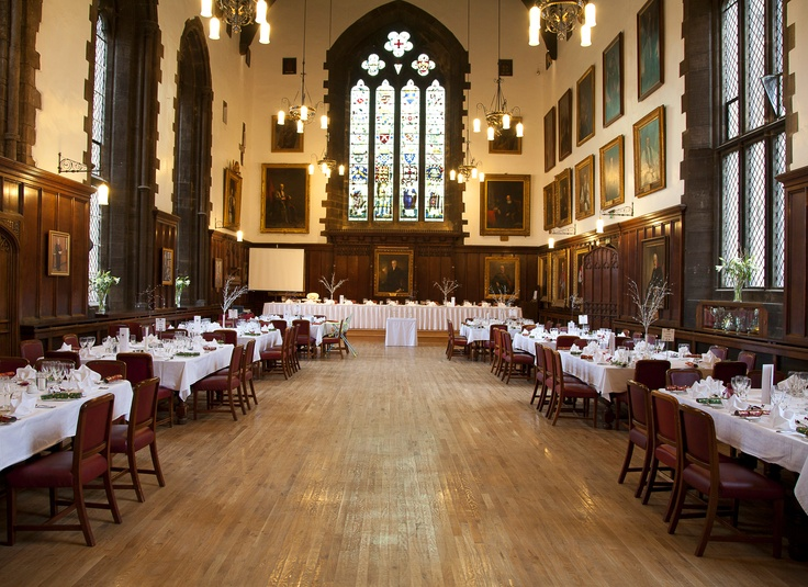 The Great Hall At Durham Castle