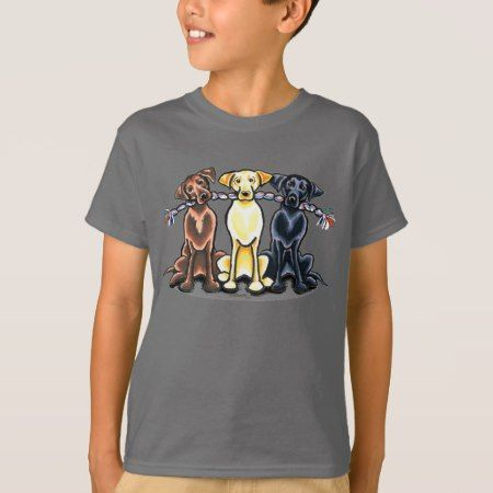 Labs On a Rope T-Shirt - tap to personalize and get yours