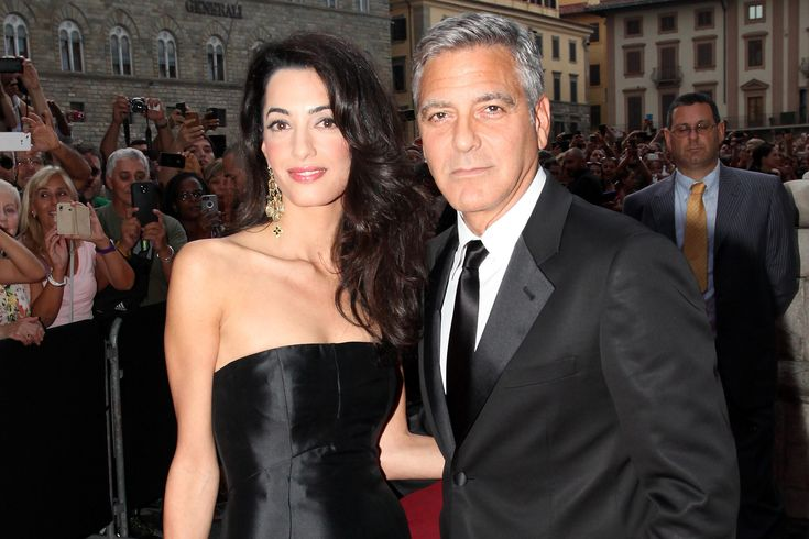 Amal Alamuddin beauty look