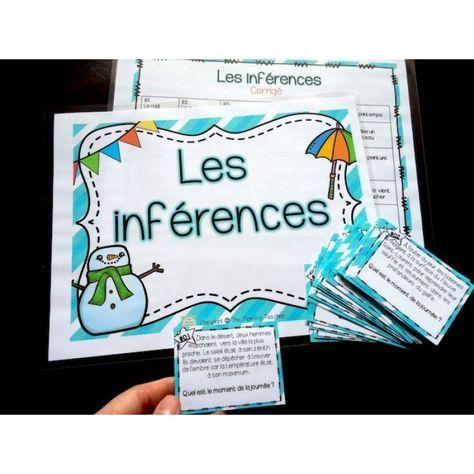 Les inférences - Cartes à tâches - Lot complet!