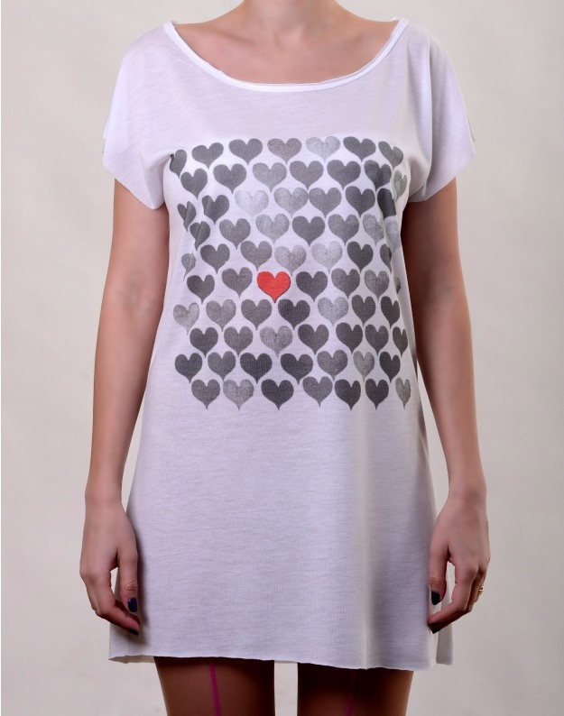 Pick my Heart T-Dress  http://www.hotncool.ro/femei/pick-my-heart-tdress.html