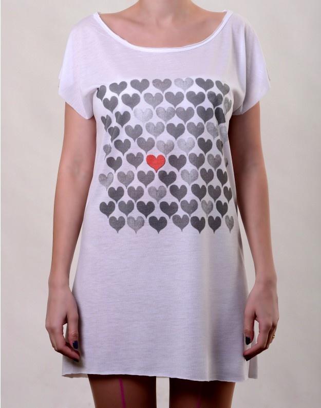 Pick my Heart T-Dress  http://www.hotncool.ro/femei/pick-my-heart-tdress.html