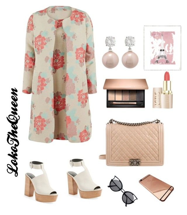 """Untitled #11"" by loko-kganyago on Polyvore featuring Rebecca Minkoff, Gina Bacconi, Chanel and Vintage Print Gallery"