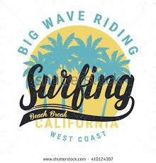 Znalezione obrazy dla zapytania retro surf t shirts