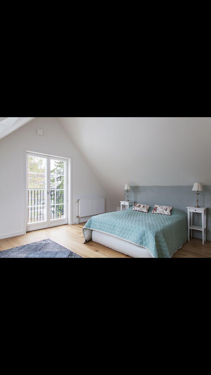 Fransk balkong sovrum