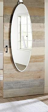 Over Door Beveled Door Mirror