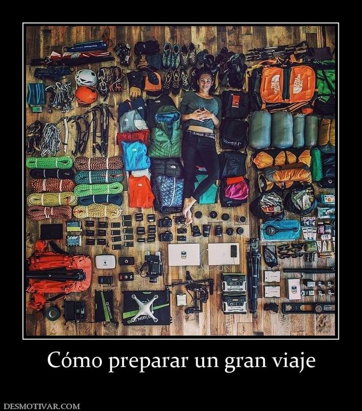 Cómo preparar un gran viaje