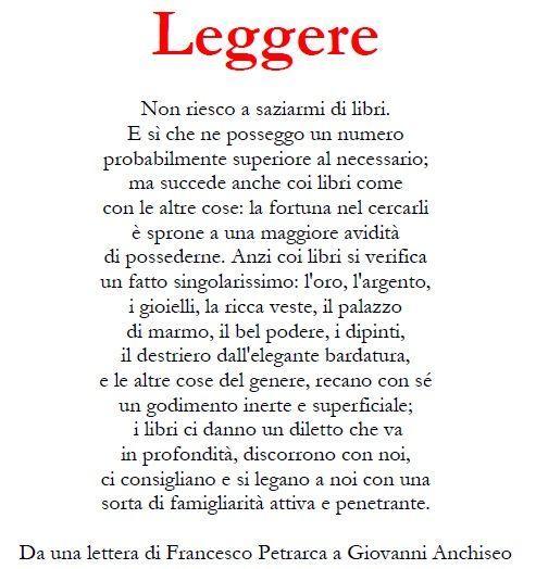 Leggere - Einaudi (Petrarca)