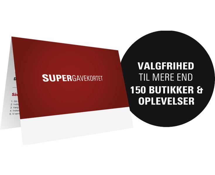 Supergavekortet - https://www.gavekortet.dk/Supergiftcard.aspx