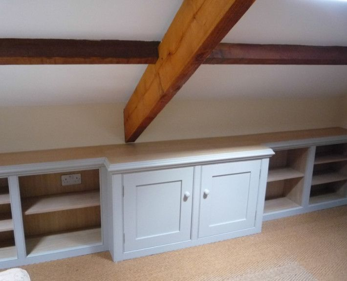 cupboards in eaves - Google Search