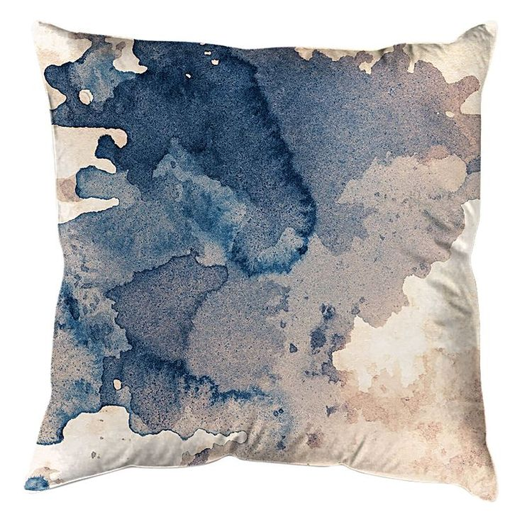 Instil soothing hues and contemporary style in your space with the polyester My Dream Cushion from United Interiors.