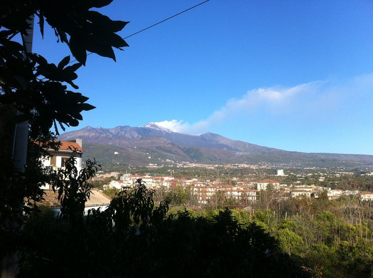 Landscapes of my native land, volcano Etna