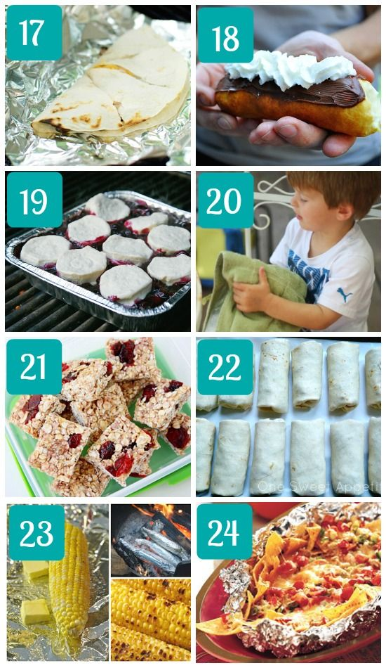 Camping Recipes for Kids Campfire