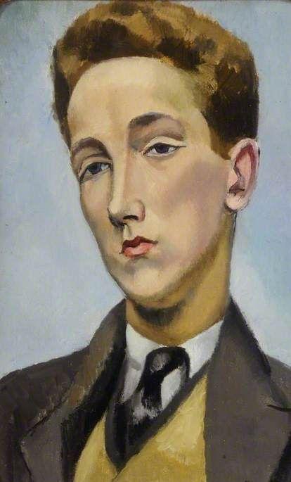 Rupert Doone (1903–1923), Dancer by Nina Hamnett. Doncaster Museum Service.     Date painted: 1922–1923     Oil on canvas, 45 x 29 cm     Collection: Doncaster Museum Service.
