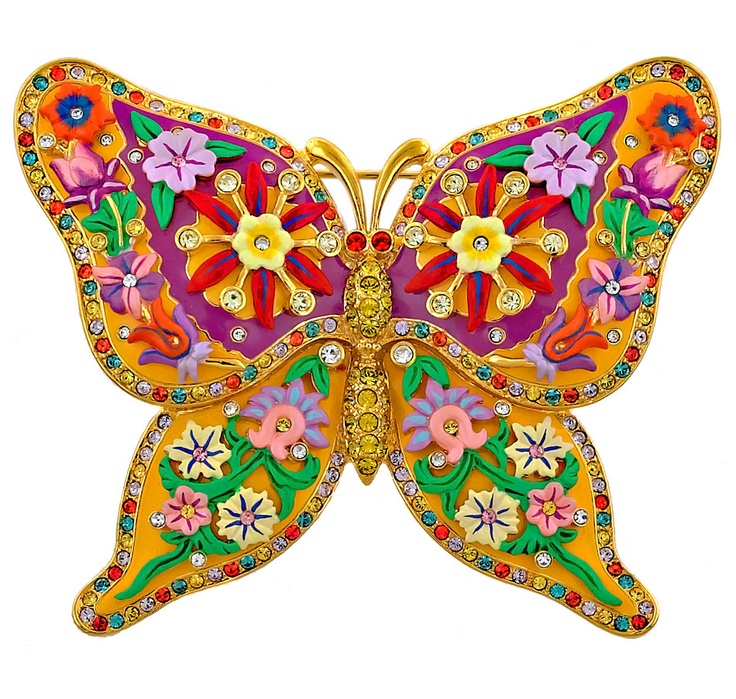 Buy Joan Rivers Flourishing Butterfly Pin, Joan Rivers and Brooches from The Shopping Channel, Canada's home shopping network - Online Shopping for Canadians