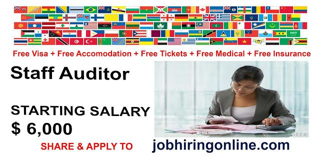 Staff Auditor Job Search Online Jobs Job Hunting Job Promotion
