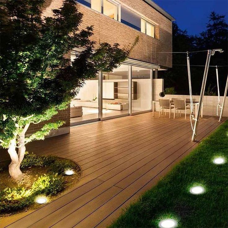 14 Small Yard Landscaping Ideas To Impress: 30+ #Marvelous #Garden #Lighting #Design #Ideas In 2020