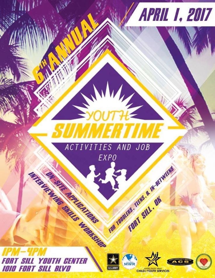 April 1, 2017 Youth Summertime Expo