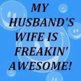 My Husband's wife!!: Thoughts, Husband Wife, Quotes, Funny Signs, My Husband, Funny Stuff, Truths, So True, True Stories