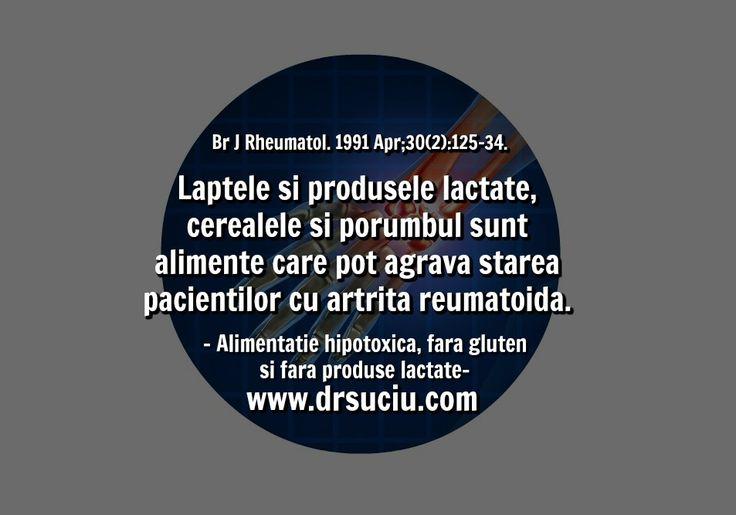 Photo Alergiile alimentare in artrita reumatoida - drsuciu