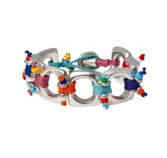 "Color bracelet "" Antojos"" by the Spanish brand Uno de 50."