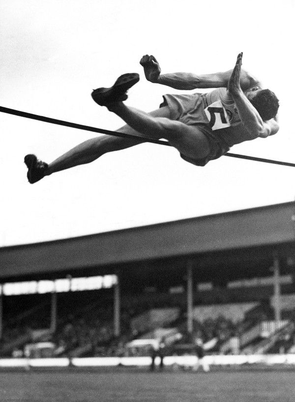 Track and Field High Jump Photo Fine Art Print